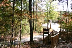 Stairs to Infantry Ridge Trail