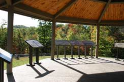 Interpretive pavilion